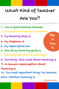 What Kind of Teacher Are You-